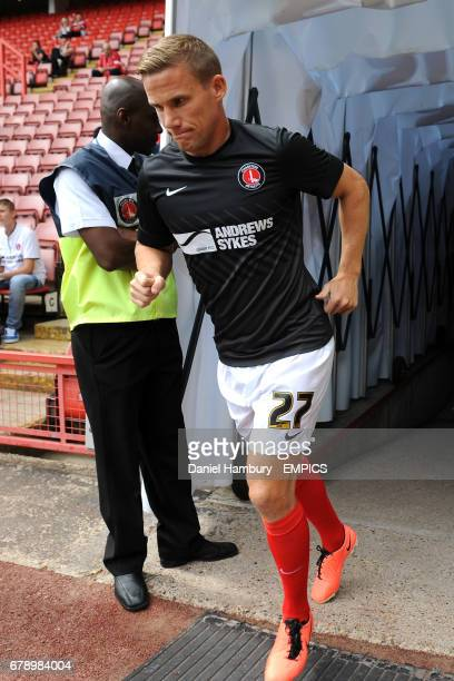 Charlton Athletic's Mark Gower walks out at the Valley