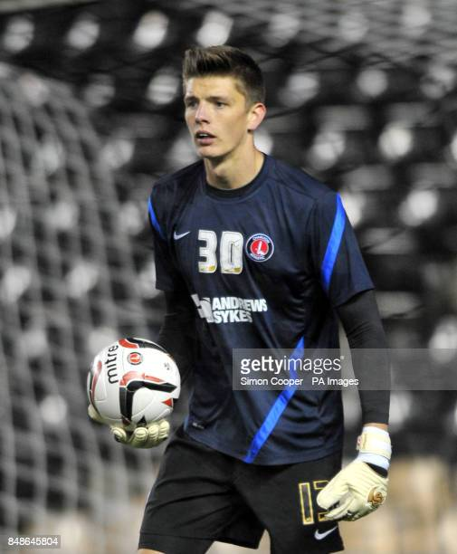Charlton Athletic's Nick Pope during the npower Football League Championship match at Pride Park Derby