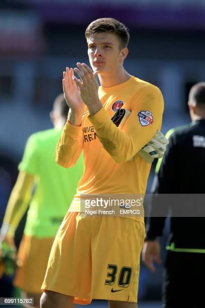 Charlton Athletic's Nick Pope