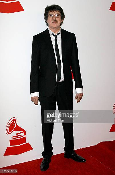 Charly Garcia arrives to the 2009 Latin Recording Academy Person of the Year honoring 'De Fiesta With Juan Gabriel' held at Mandalay Bay on November...