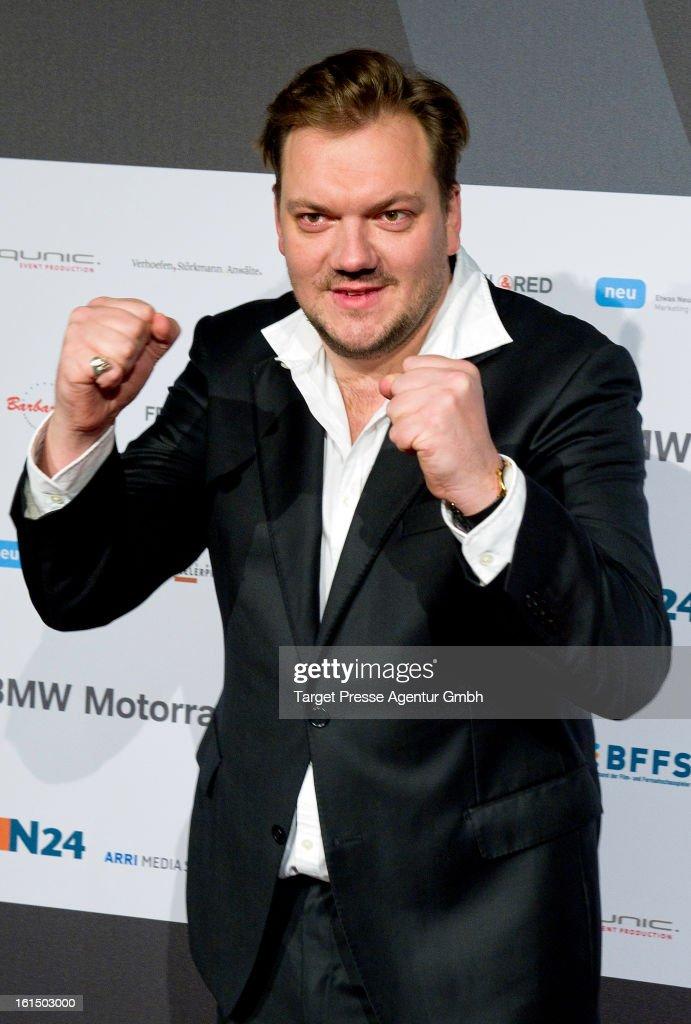 Charly Huebner attends the 'Deutscher Schauspielerpreis' at Rennaisance Theater during the 63rd Berlinale International Film Festivalon February 11, 2013 in Berlin, Germany.