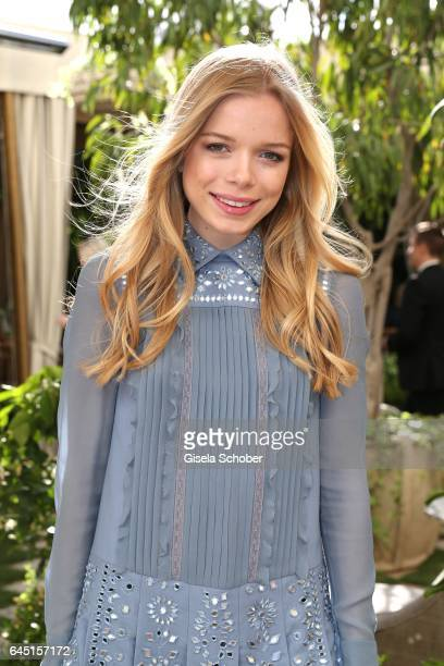 Charly Sturm during the NetAPorter lunch at hotel Chateau Marmont on February 24 2017 in Los Angeles California