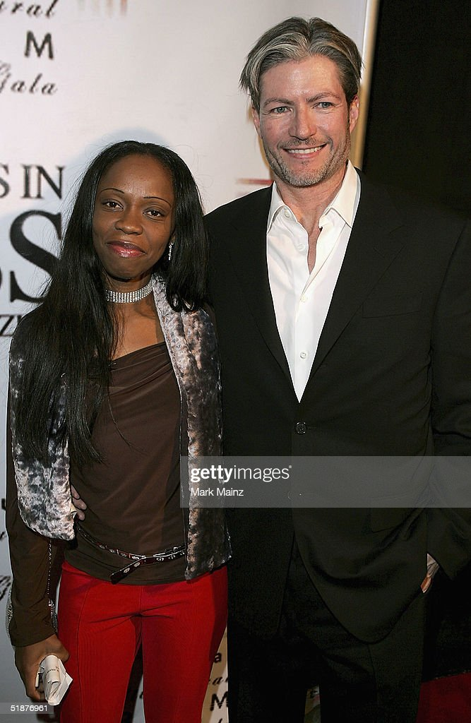 Charmaine Blake and Dr Frank Ryan attend the '9th Annual Multicultural Prism Awards' at The Henry Fonda Music Box on December 17, 2004 in Hollywood, California.