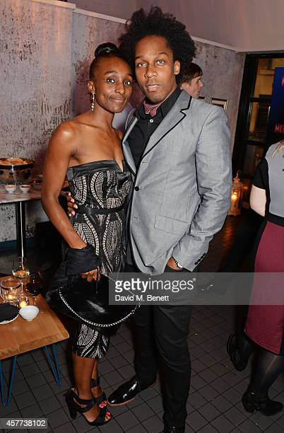 Charmaine Powell and Lemar attend the press night performance of 'Memphis The Musical' at The Floridita on October 23 2014 in London England