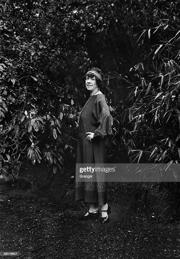 Charmian Kittredge American writer and wife of novelist Jack London in 1923