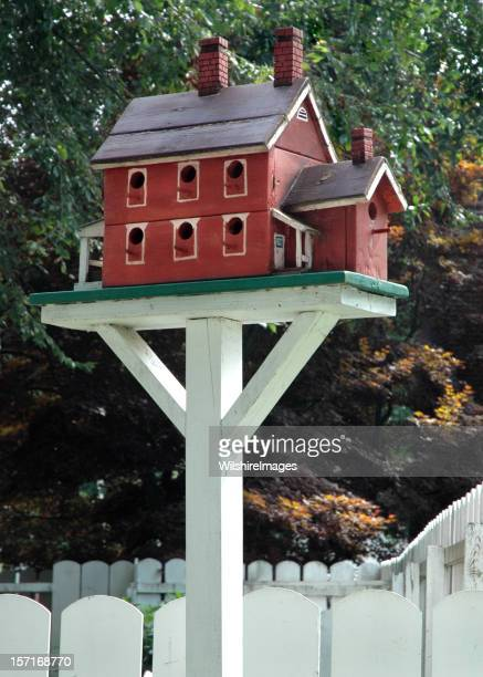Charming Two Story Birdhouse
