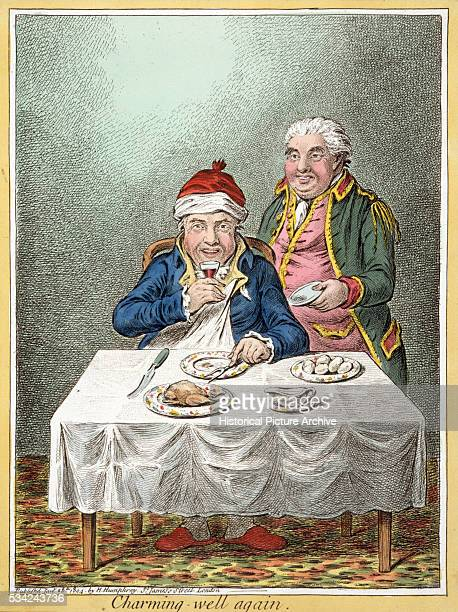 Charming Well Again by James Gillray