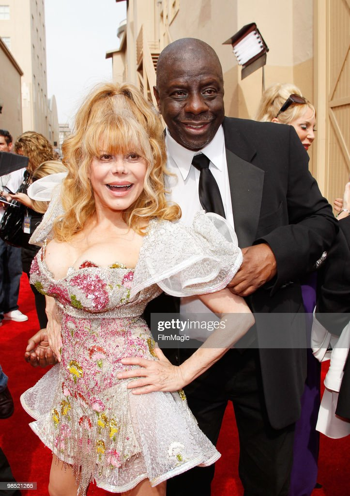 Charo and Jimmie Walker arrive to the 8th Annual TV Land Awards held at Sony Pictures Studios on April 17 2010 in Culver City California