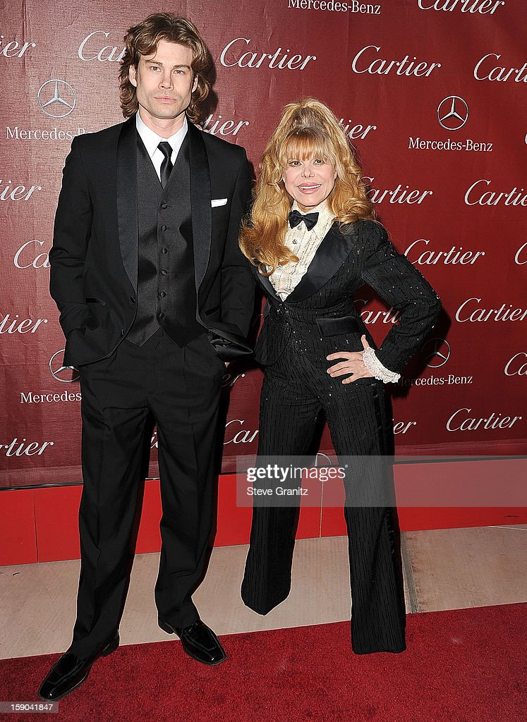 Charo and Shel Rasten arrives at the 24th Annual Palm Springs International Film Festival at Palm Springs Convention Center on January 5, 2013 in Palm Springs, California.