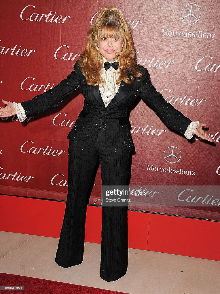 Charo arrives at the 24th Annual Palm Springs International Film Festival at Palm Springs Convention Center on January 5, 2013 in Palm Springs, California.