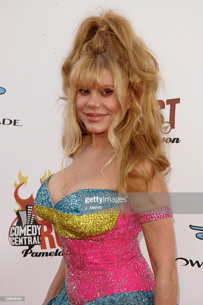 <a gi-track='captionPersonalityLinkClicked' href=/galleries/search?phrase=Charo&family=editorial&specificpeople=242999 ng-click='$event.stopPropagation()'>Charo</a> during Comedy Central Roast of Pamela Anderson - Arrivals at Sony Studios / Stage 15 in Culver City, California, United States.