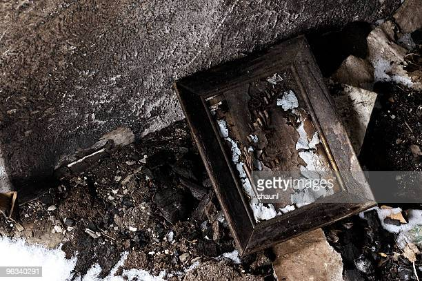 Charred Picture Frame