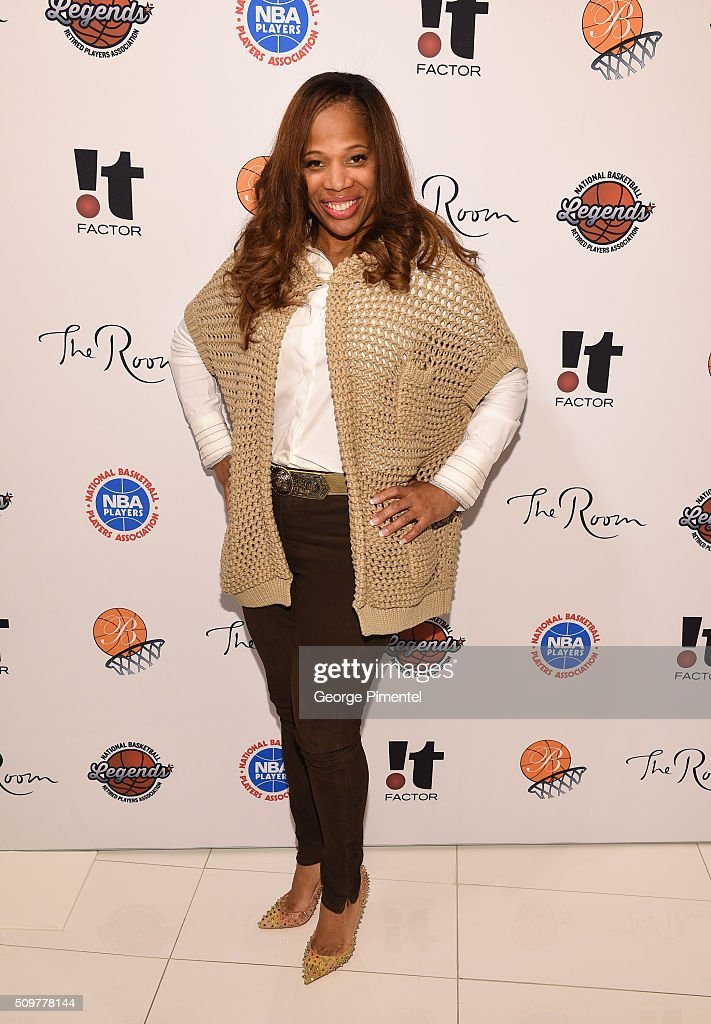 Charrisse Jackson Jordan attends the Hudson's Bay Celebrates NBA All Star Weekend With Shopping Event In Support Of Behind The Bench And KickKids Hospital Foundation at The Room, Hudson's Bay on February 12, 2016 in Toronto, Canada.