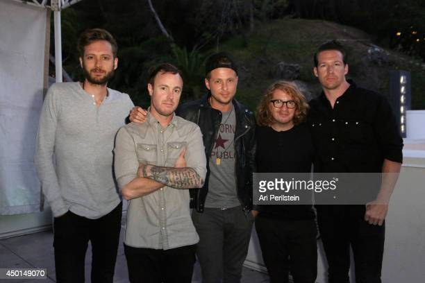 Charttopping band OneRepublic celebrated the Best Summer Ever backstage with Malibu before playing at the Hollywood Bowl on the Los Angeles stop of...