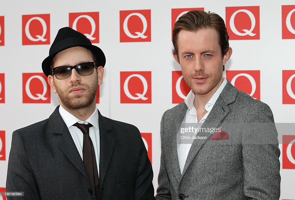 Chase and Status attend the Q awards at The Grosvenor House Hotel on October 24 2011 in London England