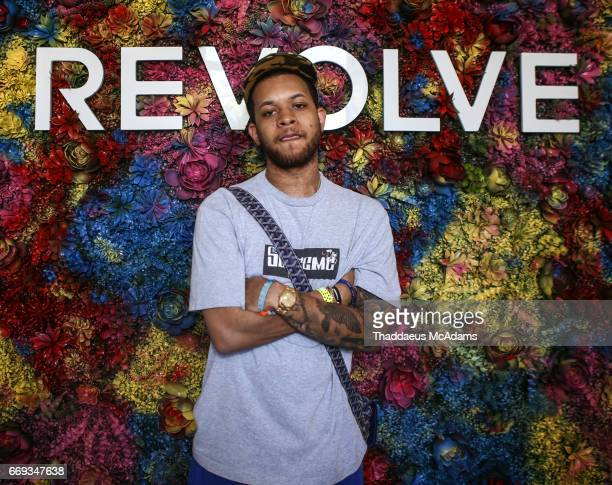 Chase B at the REVOLVE Desert House during Coachella on April 15 2017 in Palm Springs California on April 15 2017 in Palm Springs California