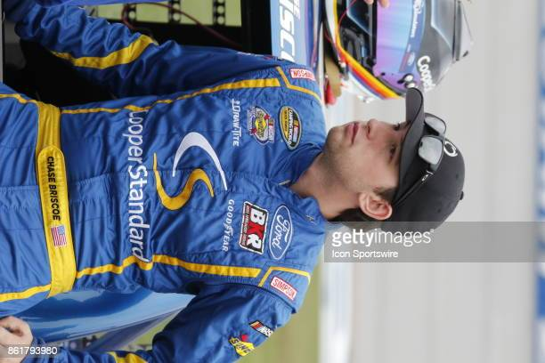 Chase Briscoe Cooper Standard Ford F150 during qualifying for the Freds 250 Camping World Truck Series race on October 14 2017 at Talladega Motor...