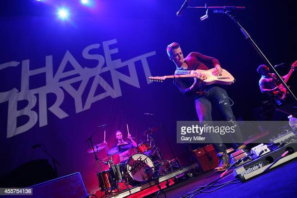 Chase Bryant performs in concert at the Cedar Park Center on September 19 2014 in Cedar Park Texas