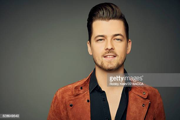 Chase Bryant poses for a portrait at the 2016 American Country Countdown Awards Peoplecom on May 1 2016 in Inglewood California