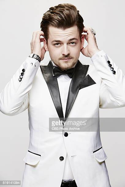 Chase Bryant stops by the CBS Photo Booth during the 51st ACADEMY OF COUNTRY MUSIC AWARDS cohosted by Luke Bryan and Dierks Bentley from the MGM...
