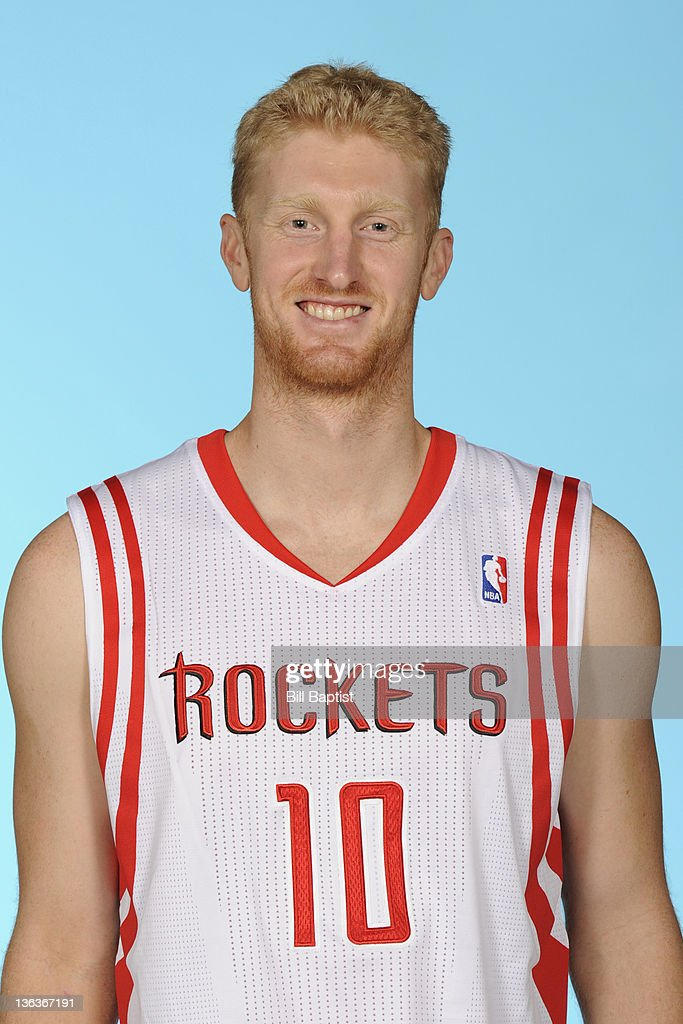 <a gi-track='captionPersonalityLinkClicked' href=/galleries/search?phrase=Chase+Budinger&family=editorial&specificpeople=3847600 ng-click='$event.stopPropagation()'>Chase Budinger</a> #10 of the Houston Rockets poses for a portrait during NBA Media Day on December 15, 2011 at the Toyota Center in Houston, Texas.