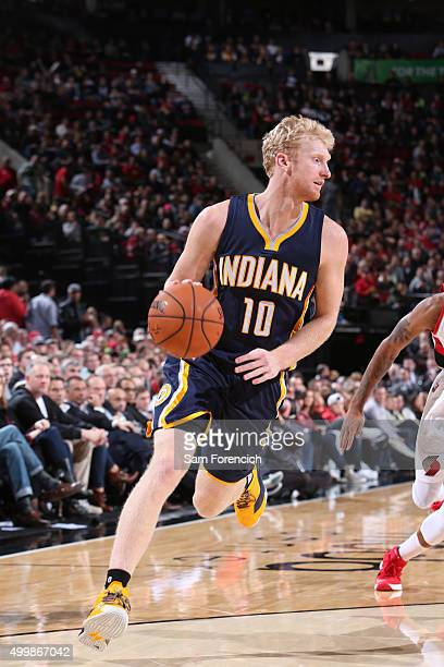 Chase Budinger of the Indiana Pacers htb against the Portland Trail Blazers on December 3 2015 at the Moda Center in Portland Oregon NOTE TO USER...