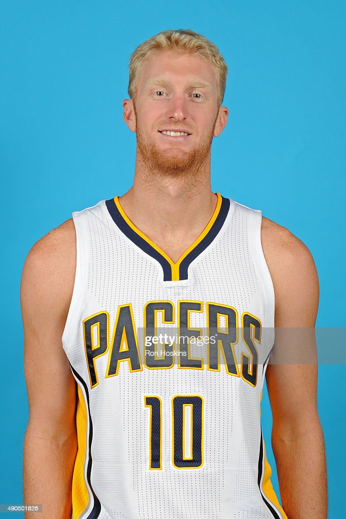 <a gi-track='captionPersonalityLinkClicked' href=/galleries/search?phrase=Chase+Budinger&family=editorial&specificpeople=3847600 ng-click='$event.stopPropagation()'>Chase Budinger</a> #10 of the Indiana Pacers poses for a head shot during the Indiana Pacers media day at Bankers Life Fieldhouse on September 28, 2015 in Indianapolis, Indiana.