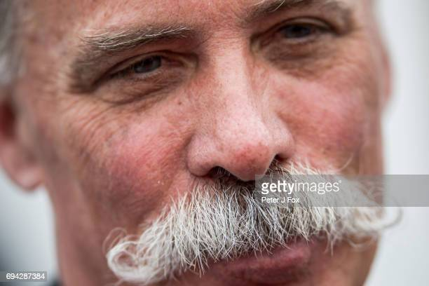 Chase Carey of Liberty Media during practice for the Canadian Formula One Grand Prix at Circuit Gilles Villeneuve on June 9 2017 in Montreal Canada