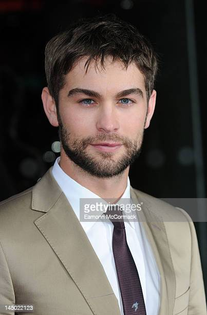 Chase Crawford attends the UK premiere of 'What To Expect When You're Expecting' at BFI IMAX on May 22 2012 in London England