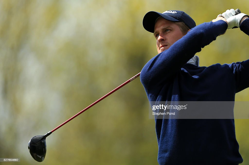 Chase Davis of Marriott Sprowston Manor Hotel during the PGA Professional Championship East Qualifier at Gog Magog Golf Club on May 3, 2016 in Cambridge, England.