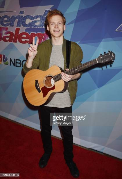 Chase Goehring arrives at the NBC's 'America's Got Talent' Season 12 Finale Week at Dolby Theatre on September 19 2017 in Hollywood California