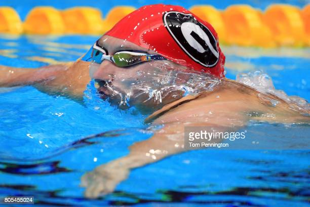 Chase Kalisz competes in the Men's 200 LC Meter Individual Medley Final during the 2017 Phillips 66 National Championships World Championship Trials...