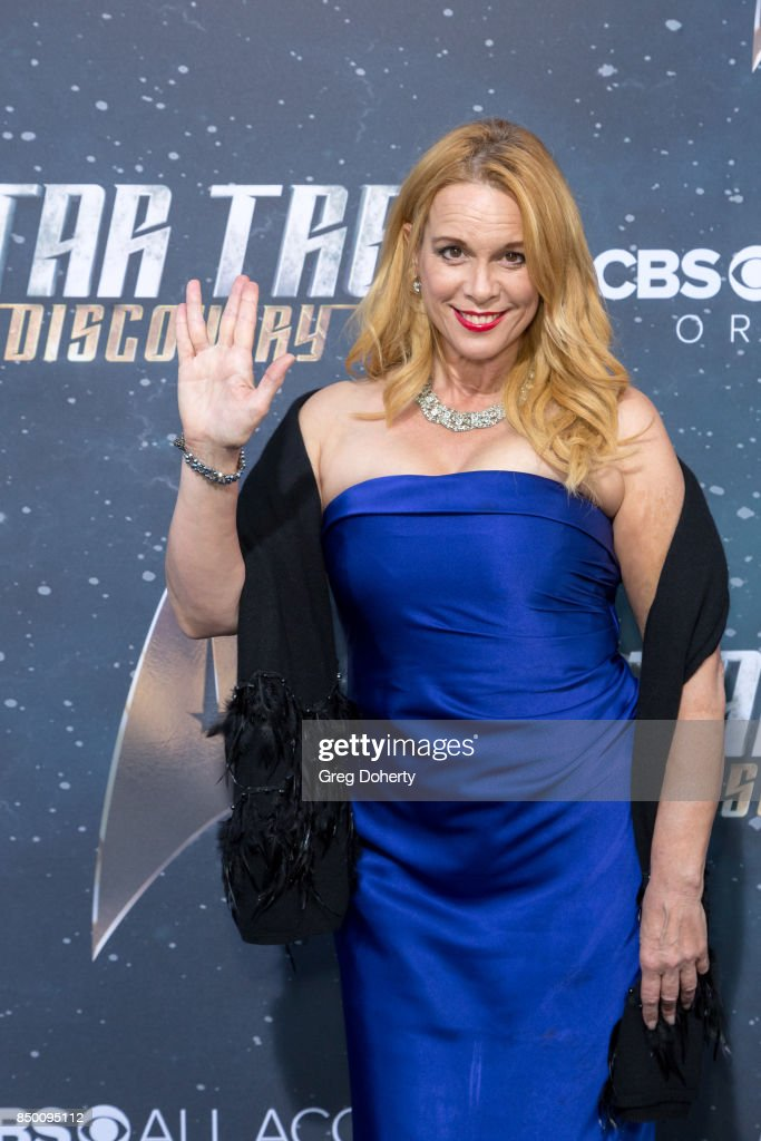 Chase Masterson arrives for the Premiere Of CBS's 'Star Trek: Discovery' at The Cinerama Dome on September 19, 2017 in Los Angeles, California.