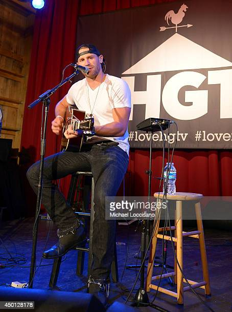 Chase Rice performs at HGTVs The Lodge at CMA Music Fest 2014 on June 5 2014 in Nashville Tennessee