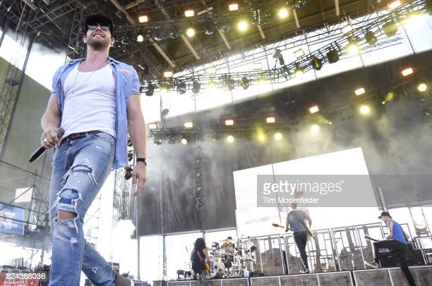 Chase Rice performs during Watershed 2017 at the Gorge Amphitheatre on July 29 2017 in George Washington