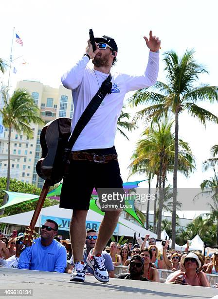 Chase Rice performs onstage at the 2nd day of The Tortuga Music Festival on April 12 2015 in Fort Lauderdale Florida
