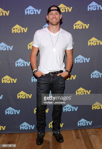 Chase Rice poses at HGTVs The Lodge at CMA Music Fest 2014 on June 5 2014 in Nashville Tennessee