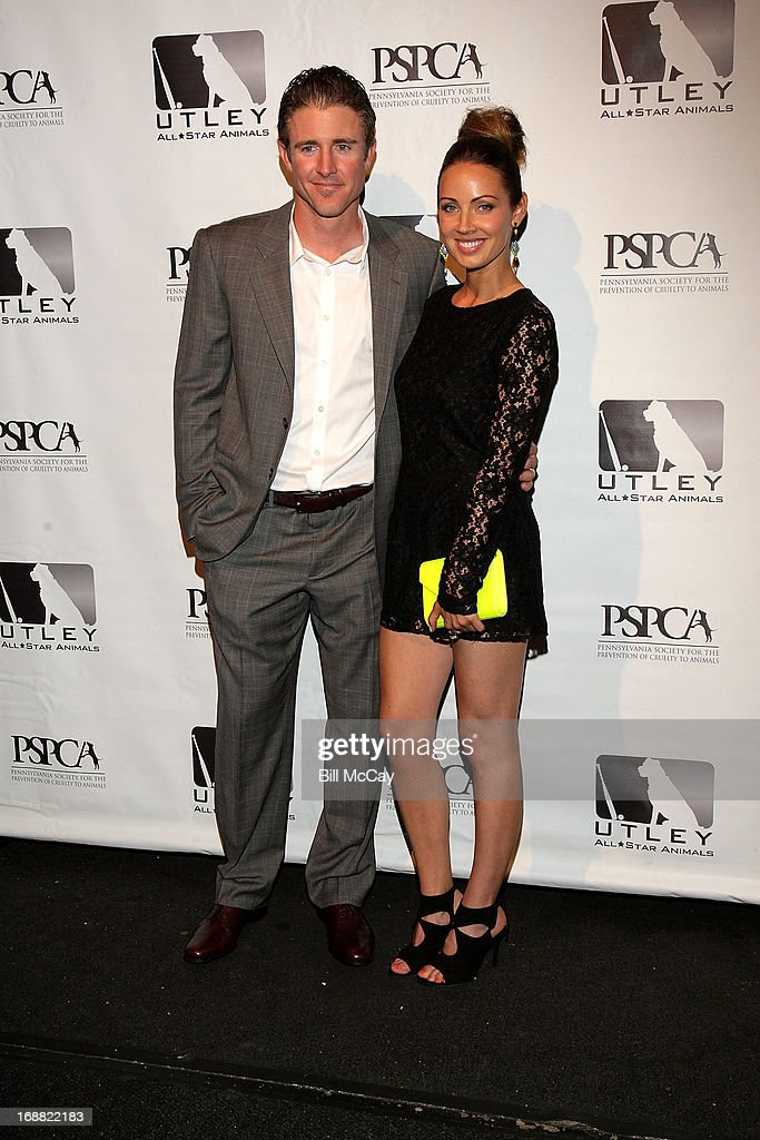 <a gi-track='captionPersonalityLinkClicked' href=/galleries/search?phrase=Chase+Utley&family=editorial&specificpeople=161391 ng-click='$event.stopPropagation()'>Chase Utley</a> and Jennifer Utley attend the 6th Annual Utley All-Star Animals Casino Night to benefit the Pennsylvania SPCA at The Electric Factory May 15, 2013 in Philadelphia, Pennsylvania.