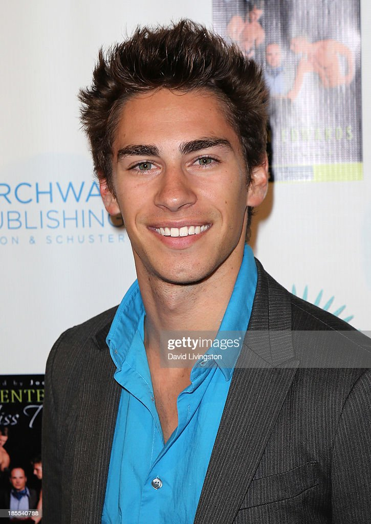 Chase Vance attends the launch party for Brian Edwards' book 'Enter Miss Thang' at Cafe Habana on October 21, 2013 in Malibu, California.