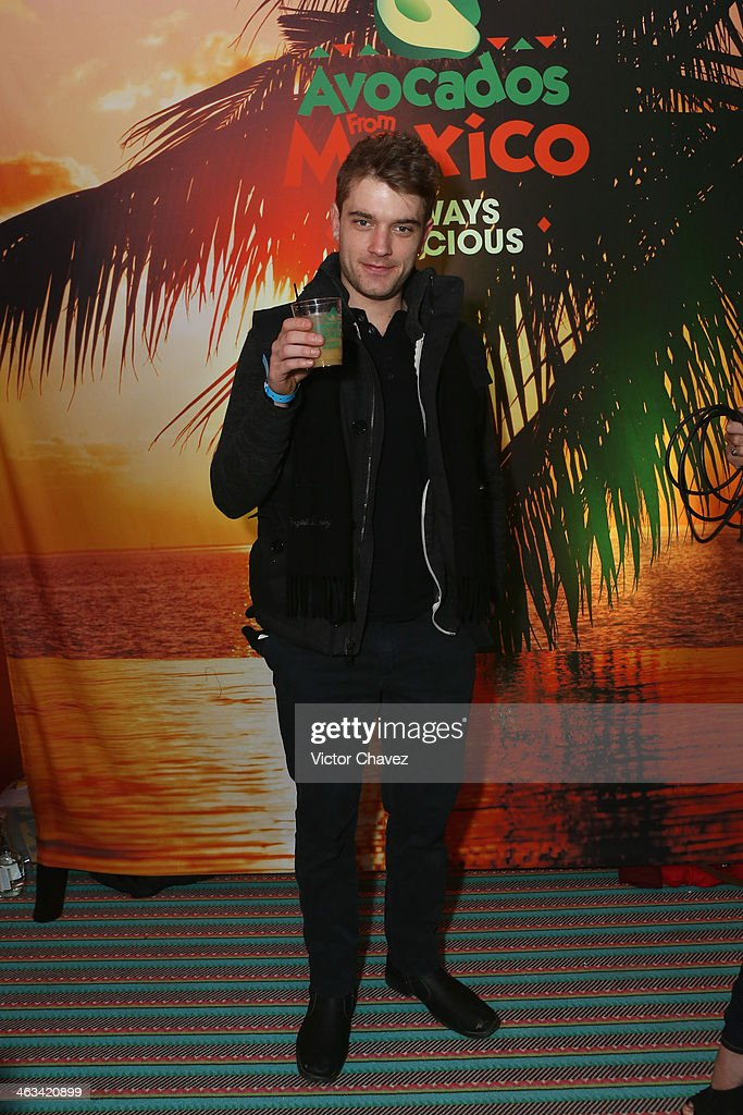 Chase Williamson attends Avocados From Mexico Film Festival Suite on January 17, 2014 in Park City, Utah.