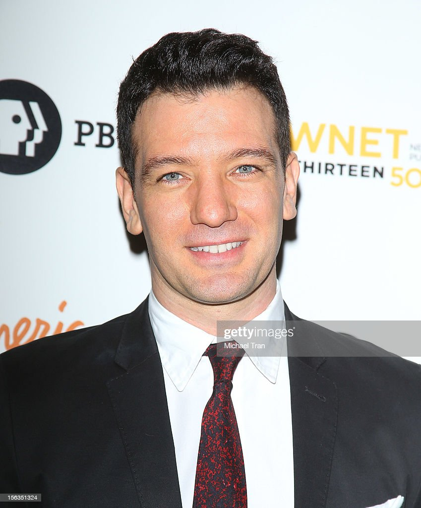 J.C. Chasez arrives at the Los Angeles premiere of 'Inventing David Geffen' held at Writer's Guild Theater on November 13, 2012 in Los Angeles, California.