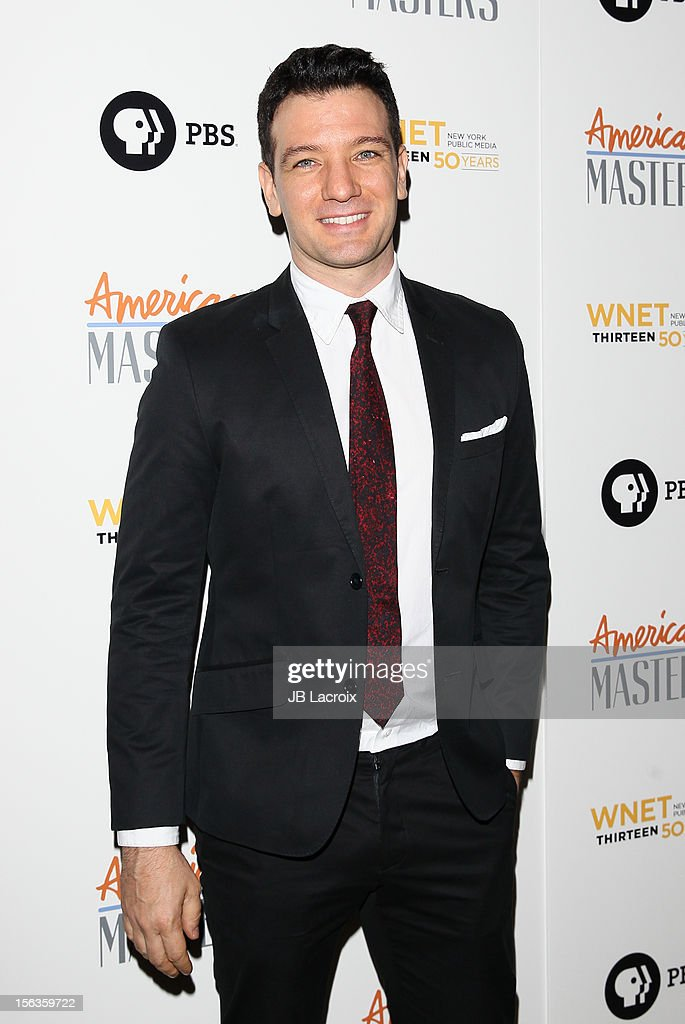 J.C. Chasez attends the 'Inventing David Geffen' Los Angeles Premiere held at Writer's Guild Theater on November 13, 2012 in Los Angeles, California.