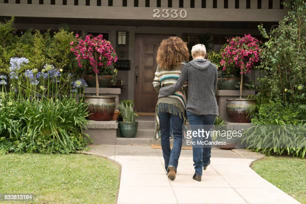 THE FOSTERS 'Chasing Waterfalls' Lenas parents are back in town for a visit meanwhile Callie and Aaron get closer than ever before Mariana tries to...