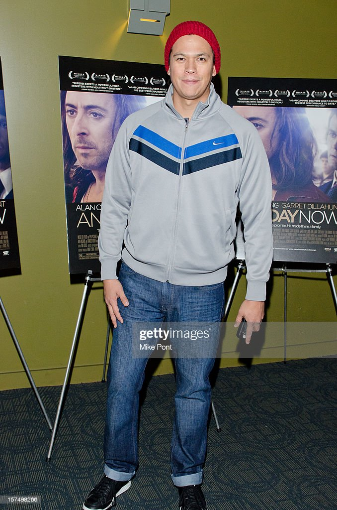 <a gi-track='captionPersonalityLinkClicked' href=/galleries/search?phrase=Chaske+Spencer+-+Actor&family=editorial&specificpeople=6102720 ng-click='$event.stopPropagation()'>Chaske Spencer</a> attends the 'Any Day Now' premiere at Sunshine Landmark on December 3, 2012 in New York City.