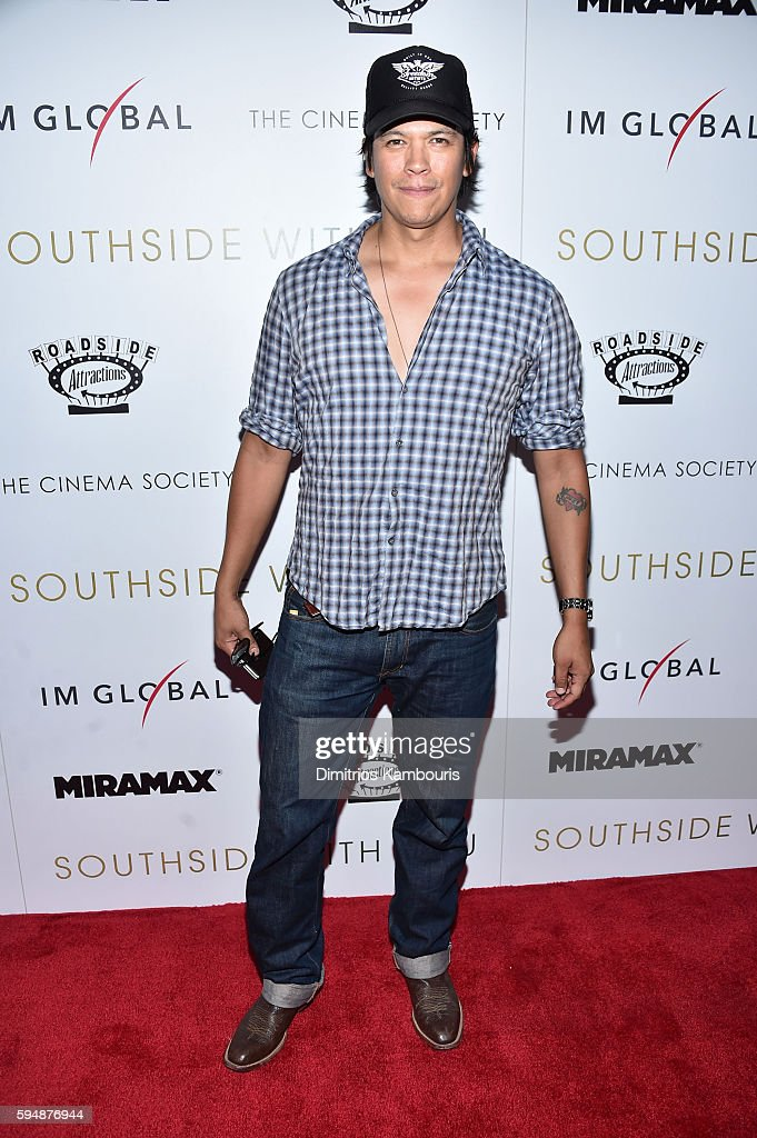 """Miramax, Roadside Attractions & IM Global with The Cinema Society host a screening of """"Southside With You""""- Arrivals"""