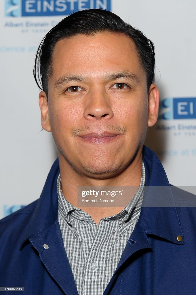 Chaske Spencer attends the Einstein Emerging Leaders 2nd Annual Gala at Dream Downtown on June 6, 2013 in New York City.