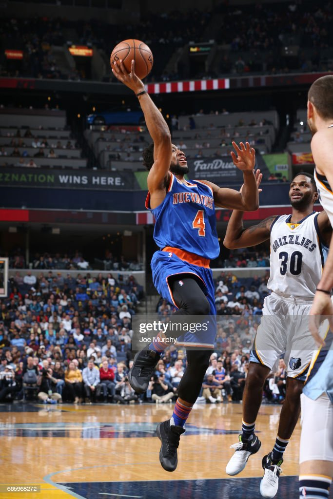New York Knicks v Memphis Grizzlies