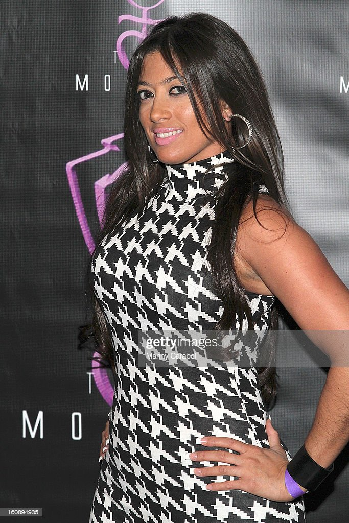 Chastity LeCour attends Monifah's 'In Her Skin' Showcase at Katra Lounge on February 6, 2013 in New York City.