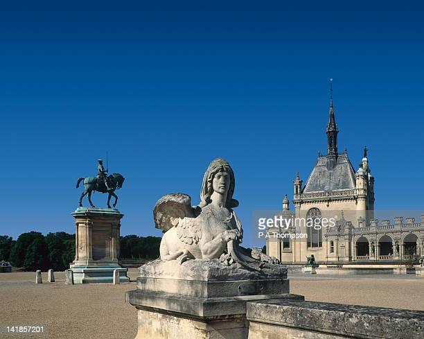 Chateau Chantilly, Oise, France