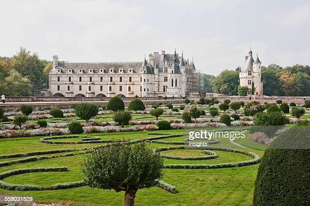 Chateau De Chenonceau Marques Tower And By The River Cher Chenonceau IndreEtLoire France